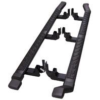 2009-2010 Hummer H3T Side Step Running Boards Nerf Bars Black Pair New 19166293