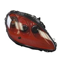 2010-13 Chevy Corvette C6 Right Export Headlamp Inferno Orange New OEM 20832116