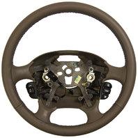 1999-2004 Oldsmobile Alero Steering Wheel Neutral Leather W/Switches 22715354