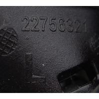 2017-18 Corvette C7 LH Headlight Washer Nozzle Black Rose Metallic 22756321LHBR