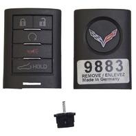 2014-2015 Chevrolet Corvette C7 Coupe Key FOB New OEM Empty 22779883