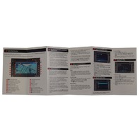 GM Touch Screen Navigation Entertainment System Quick Reference Guide Manual