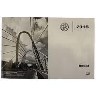 2015 Buick Regal US Owners Manual New OEM English Print 22941512