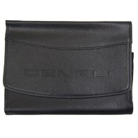 GMC Denali Glove Box Black Leather Pouch New OEM