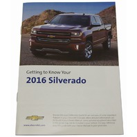 2016 Chevrolet Silverado U.S Owners Manual Booklet New OEM 23133505 23133519
