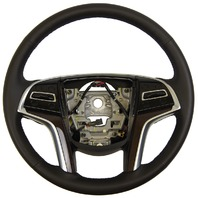2013 Cadillac SRX Steering Wheel Black Leather W/Heat New OEM Complete 23187008