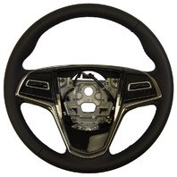 2013-2016 Cadillac ATS Steering Wheel Black Leather New OEM 23360205 23193050