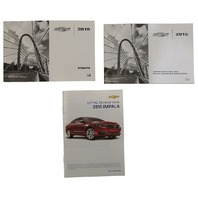 2015 Chevrolet Impala US Owners Manual W/Warranty Booklet New OEM 23254394