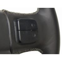 2015-2016 Silverado Sierra Steering Wheel Black Leather Grey Stitching 23278614