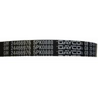 2002-10 Cavalier Cobalt 2.2L Serpentine Belt W/O A/C Dayco New 24466976 12634322