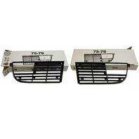 1975-1979 Chevy Corvette C3 Grille Pair LH & RH Black 2565L 2565R 345487 345488