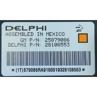 2008-2013 Corvette XLR Delphi Electronic Body Control Module Computer 20934684