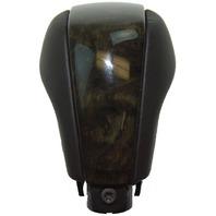 Cadillac XLR-V Ebony Black Olive Ash Burl Wood Shift Knob Control Lever & Bolt