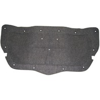 2006-2009 Pontiac Solstice Rear Trunk Lid Carpet Liner Black Diamond Color 25899737