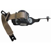 2007-2009 Saturn Aura Rear LH Seat Belt Neutral Tan 25906534 19180016 19168810