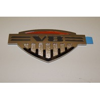 """V8"" ALPHA BADGE 09 10 HUMMER H3 LIMITED EDITION EMBLEM"