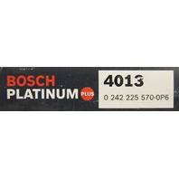 Bosch Platinum Plus Spark Plugs #4013 Pack of 4 NOS