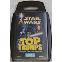 Star Wars Top Trumps Card Game By Parker Brothers 31 Cards 2003
