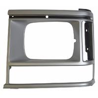 1987-1990 Dodge Caravan Front Left Headlight Bezel Silver New 4388219 DG07020HAL