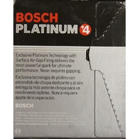 Bosch Platinum +4 Spark Plugs #4469 Pack of 4 NOS