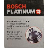 Bosch Platinum +4 Spark Plugs #4469 Pack of 4 NOS