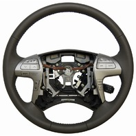 2007-2011 Toyota Camry Steering Wheel Ash Brown Leather New OEM 4510006E60E0