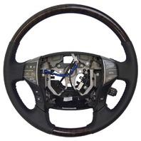 2005-2012 Toyota Avalon Steering Wheel New Black W/Woodgrain Audio/Temp Control