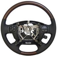 2011 Toyota Sequoia Steering Wheel Black Leather W/Woodgrain New 451000C350C0I