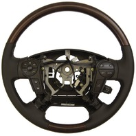 2010-2012 Toyota Sequoia Steering Wheel Brown Leather W/Wood New 451000C360E0I