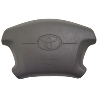 1997-2001 Toyota Camry Steering Wheel Center Airbag Cover Gray New OEM