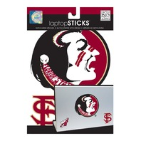 me & my BIG ideas laptopSTICKS Removable Laptop Stickers Florida State Seminoles