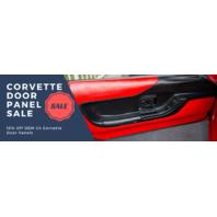 C4 Corvette Door Panels - 1990-93 1994-96 OEM