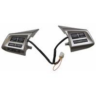 2012-2014 Subaru Legacy Steering Wheel Switch Assembly New OEM Silver 83154AJ180