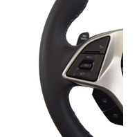 2014-2018 Corvette C7 Z06 Steering Wheel Black Leather W/Gray Stitch 84198720