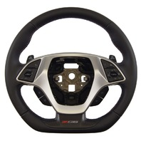 2014-18 Corvette C7 Z06 Steering Wheel Black Leather W/Kalahari Stitch 84198722
