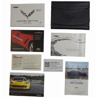 2017 Chevy Corvette C7 Owners Manual US Version Black Pouch New OEM 84229317