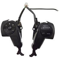 2008-2011 Toyota Sequoia Steering Wheel Switches New Black OEM 842500C020C0