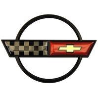 1984-1990 Chevrolet Corvette C4 Emblem Set Front Bumper & Rear Gas Door Kit