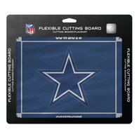"""NFL Dallas Cowboys Officially Licensed Flexible Cutting Board 15"""" x 12"""" Placemat"""