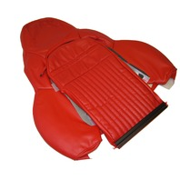 2000-2004 Corvette C5 Red Leather Seat Cover Upper Sport Drivers Side NEW GM NOS