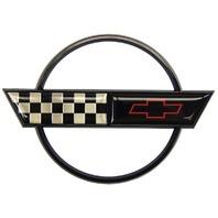 1991-1996 Chevrolet Corvette C4 Rear Gas Door Emblem GM Licensed New