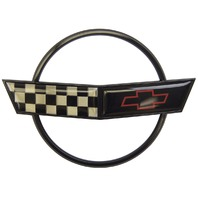 1991-1996 Chevrolet Corvette C4 Front Hood Emblem GM Licensed New Black
