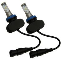 H9/H11 CSP 50W LED Headlight Bulb Kit - Kawasaki ZX10 ZX6R ZX14R - Suzuki GSXR 1000