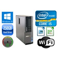 Dell OPTIPLEX 7010 SFF i3/i5 DUAL/QUAD CORE 4/8GB RAM 250GB HD USB 3.0 WIN 10 DELL 390