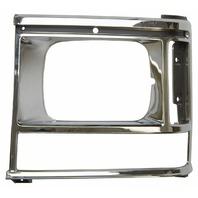 1987-1990 Dodge Caravan Front Left Headlight Bezel Chrome New 4388217 DG07020HBL