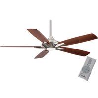 "Minka Aire F1000-BN Dyno LED Brushed Nickel 52"" Ceiling Fan w/Remote Control"