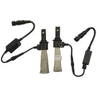 Fanless Super Bright LED Digital Slim Headlight Kit Cree 5th Gen Canbus New AIO