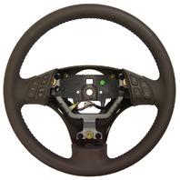2003-2008 Mazda 6 Brown Steering Wheel W/Audio & CC Buttons New GK2E32980G22