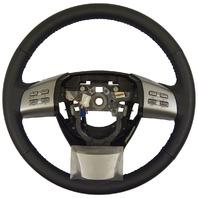 2009-2010 Mazda 6 Steering Wheel Black Leather New OEM W/Cruise & Audio Control