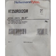 "HellermannTyton Heavy Duty Cable Clamp Length-20.47"" Max Diameter-5"" RT250R0X2GM"